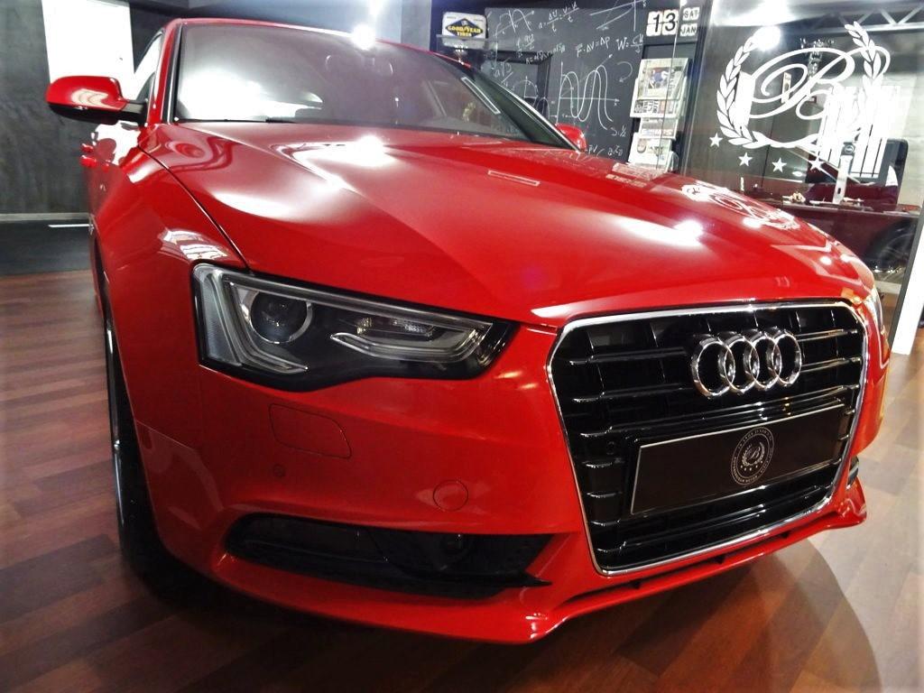 Audi A5 Sportback 3.0 TDI Rojo (1)