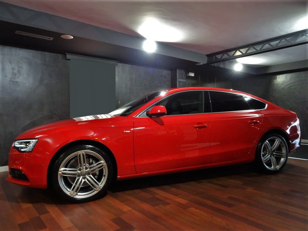 Audi A5 Sportback 3.0 TDI Rojo (25)